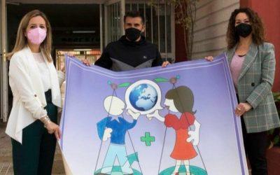 CEIP Albaicín, primer Centro en recibir las moquetas por la Igualdad