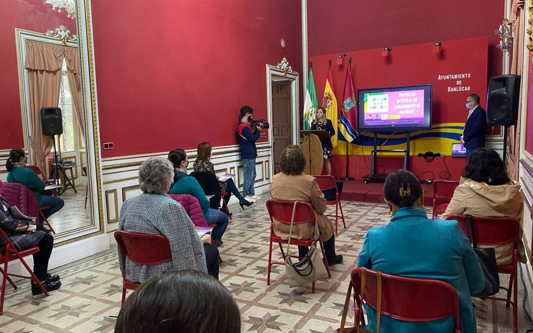 Presentación del «Proyecto Integral del Movimiento Asociativo de las Asociaciones de Mujeres en Sanlúcar de Barrameda»